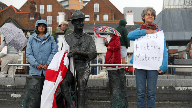 "Bournemouth, Christchurch and Poole Council said the statue would be removed and put into temporary storage over ""concerns"" about it."