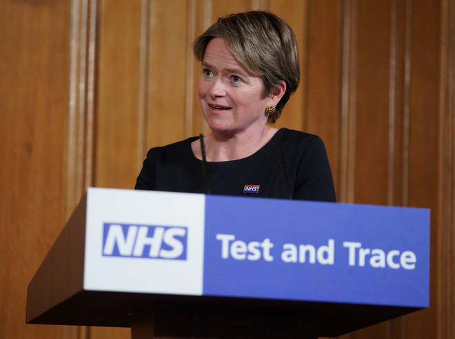Baroness Dido Harding has admitted the Test and Trace system needs improving