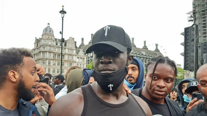 Stormzy attended at least one of the Black Lives Matter demonstrations in London