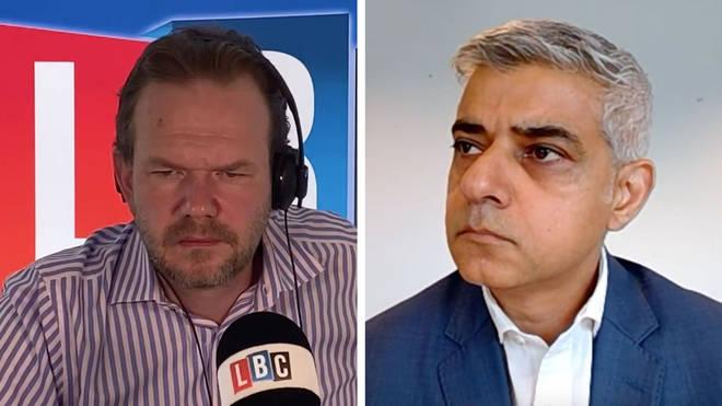 Sadiq Khan told James O'Brien he's confident over a Brexit deal