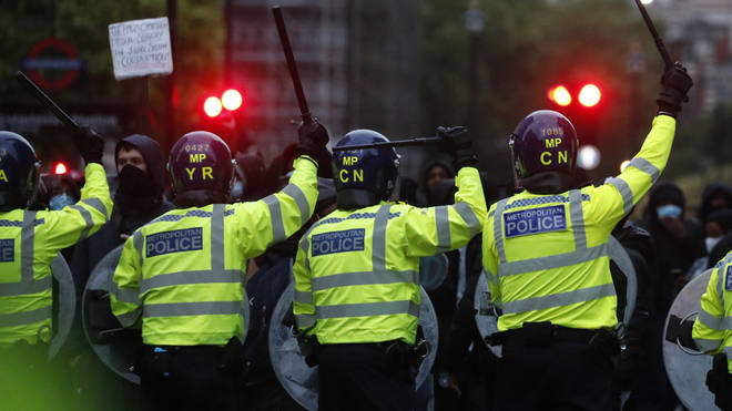 The prime minister has urged people to stay away from protesting this weekend