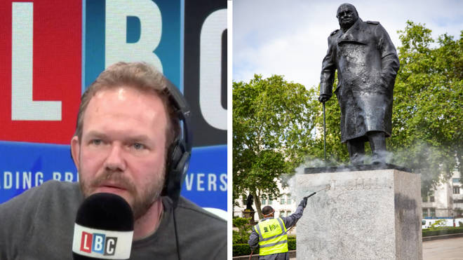 """James O&squot;Brien and caller unpick whether society brands him """"far-right"""" for protecting statues"""
