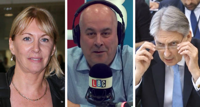 Nadine Dorries Iain Dale Philip Hammond