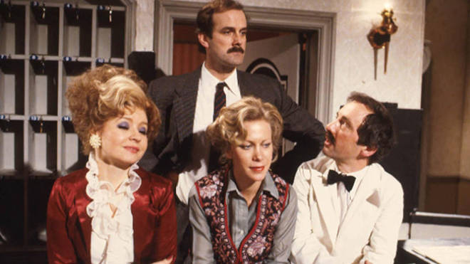Fawlty Towers was pulled from streaming service UKTV