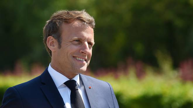 Emmanuel Macron will visit the UK next week