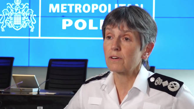 Metropolitan Police Commissioner Cressida Dick has urged protesters to stay away from London