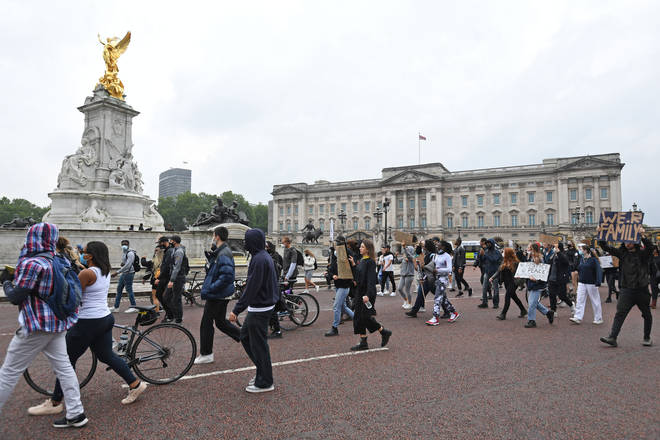 It is expected counter-protests will gather in London over the weekend