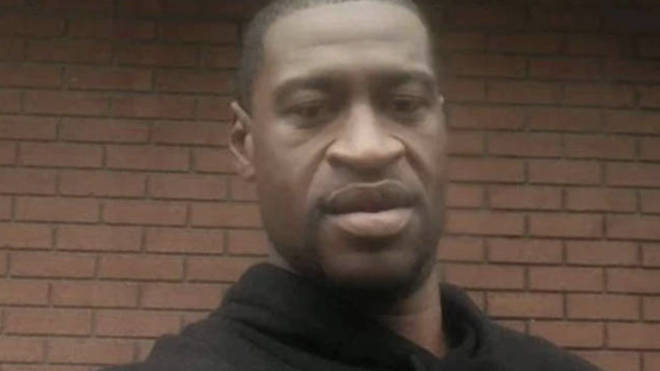 George Floyd died after a white police officer knelt on his neck