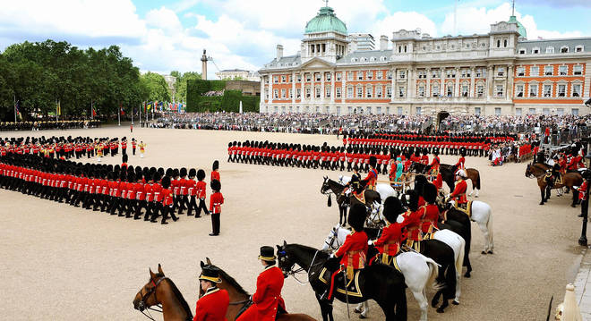 The Trooping the Colour on 14 June 2008