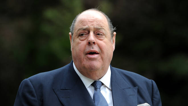 Sir Nicholas Soames said he was deeply shocked to see his grandfather's statue boarded up