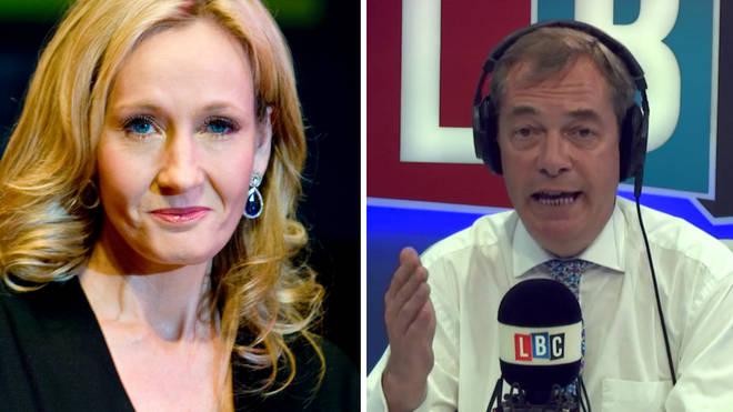Nigel Farage JK Rowling