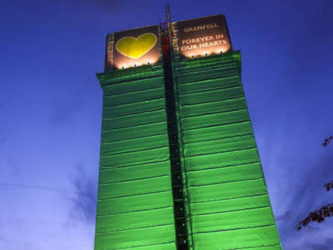 Grenfell Tower set alight on 14 June 2017, killing 72 people
