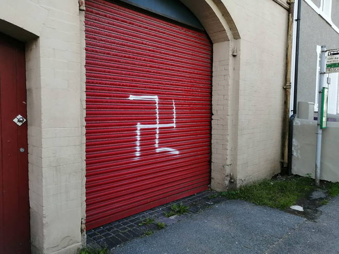 Margaret was victim of targeted vandalism following some far-right protesters taking to the streets on Saturday