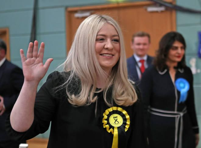 SNP East Dunbartonshire MP Amy Callaghan suffered a brain haemorrhage