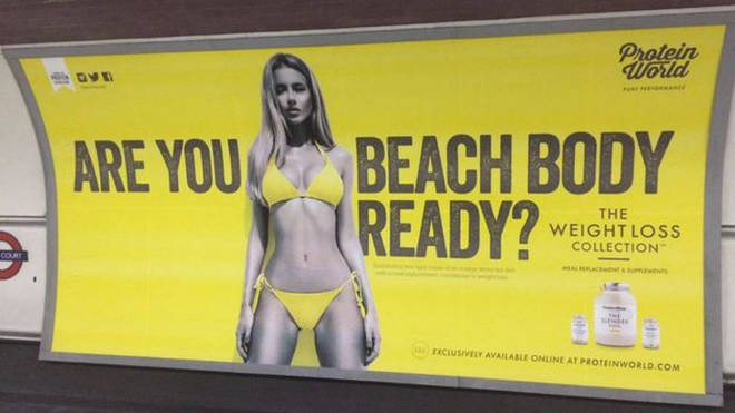The banned Beach Body Ready advert