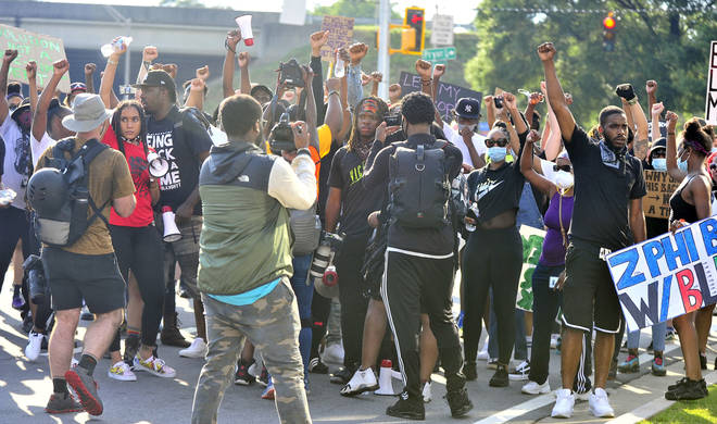 Rayshard Brooks' death has sparked protests in Atlanta