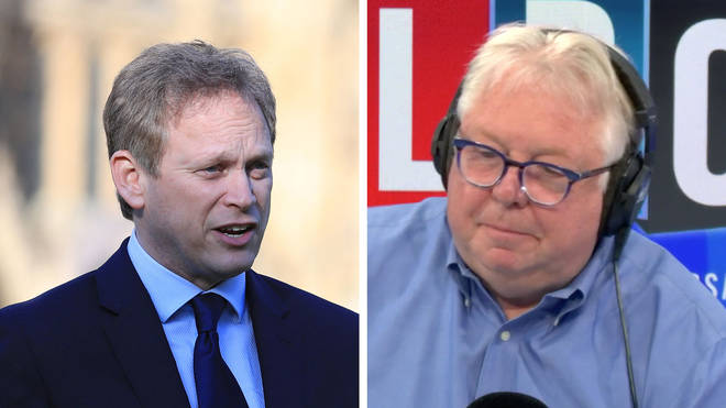 Nick Ferrari asked Grant Shapps why children can go to Primark but not school