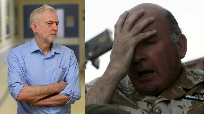 Richard Dannatt criticised Jeremy Corbyn on defence