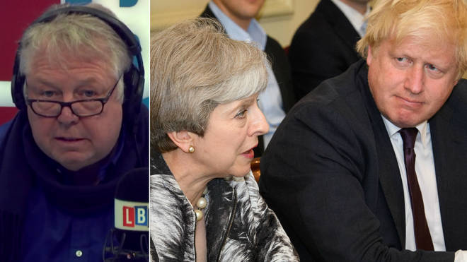 Nick Ferrari told Theresa May to sort out her Cabinet