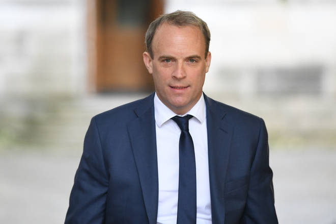 Foreign Secretary Dominic Raab wil be given control of the UK aid budget