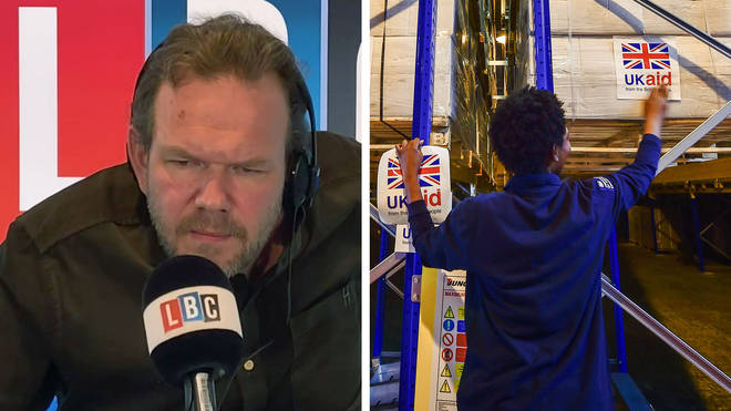 James O'Brien explained why foreign aid was so important
