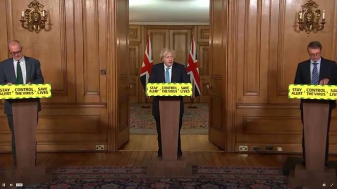 Tuesday's Downing Street coronavirus briefing