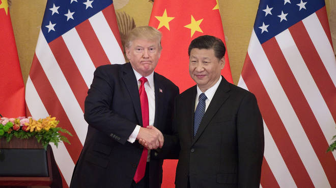 Donald Trump has been accused of asking China's Xi Jingping to help with the 2020 election
