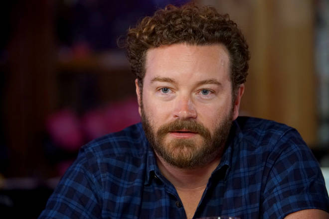 File photo: Danny Masterson, star of That '70s Show, has been charged with raping three women