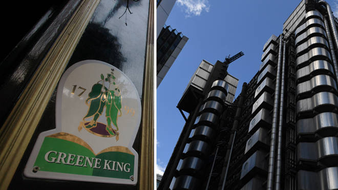 Greene King and Lloyd's of London have both apologised over historical links to the slave trade
