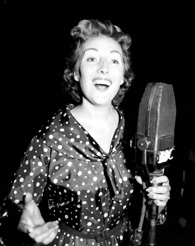 Dame Vera Lynn in 1956