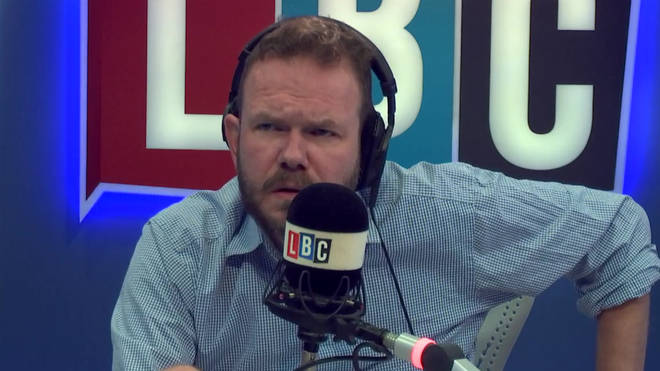 A frustrated James O'Brien had a heated discussion with a Brexiteer this morning
