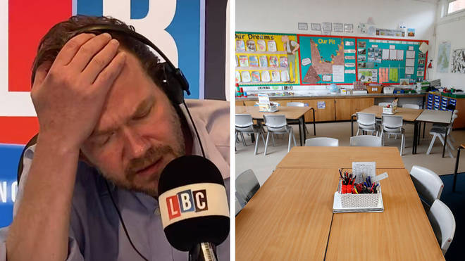 James O'Brien heard an interesting case why this dad isn't sending his daughter back to school
