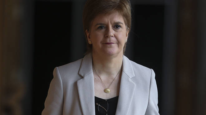 Nicola Sturgeon announced the measures today