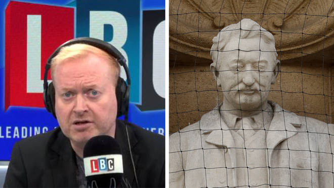 One local councillor told LBC the Rhodes statue must go