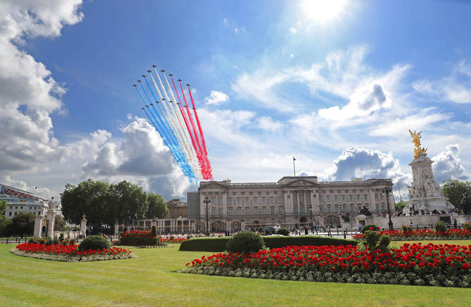 Flypast Commemorates Appeal of The 18th June Speech By Charles De Gaulle