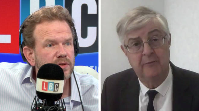 Mark Drakeford the First Minister of Wales was speaking to LBC's James O'Brien