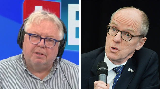 Nick Ferrari was speaking to the Education Minister