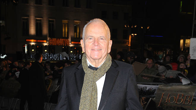 Ian Holm arriving for the UK Premiere of The Hobbit: An Unexpected Journey at the Odeon Leicester Square in 2012