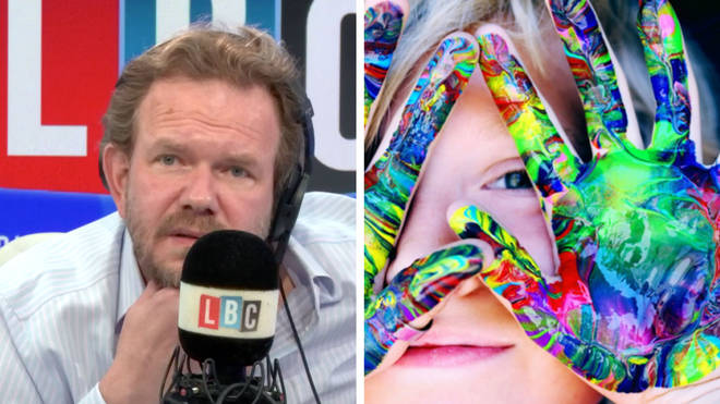 James O'Brien spoke to a youngster being helped by Kids Inspire