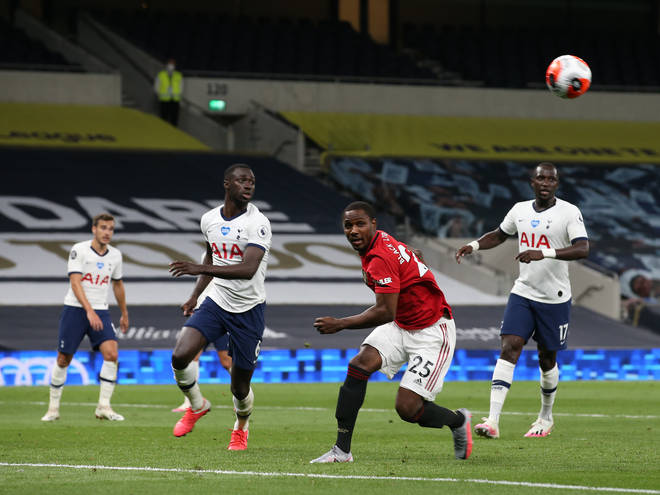 Tottenham Hotspur went against Manchester United as the Premier League returns