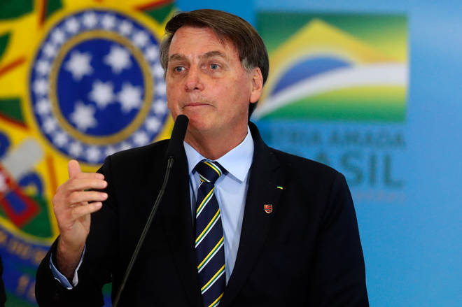 President Jair Bolsonaro has been criticised for his handling of the pandemic