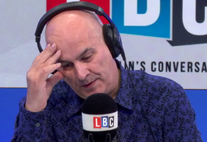 Iain Dale listened to James' emotional call on depression and suicide