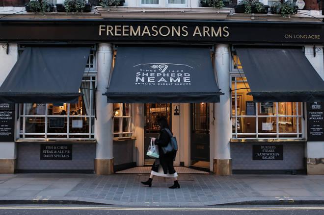 Easing the lockdown measure could help pubs