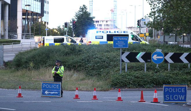 Police in Reading have been at the scene this morning
