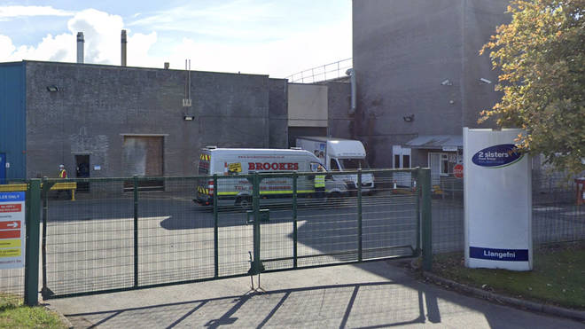 158 people have been confirmed to have coronavirus at 2 Sisters chicken factory in Anglesey