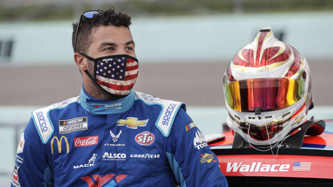 A noose was found in the garage of driver Bubba Wallace