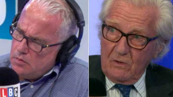 Eddie Mair interviewed Michael Heseltine