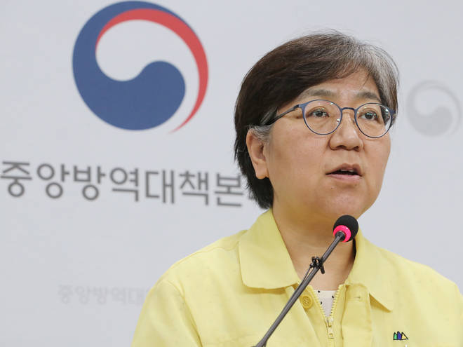 KCDC chief Jeong Eun-kyeong said cases will continue to rise if people keep gathering