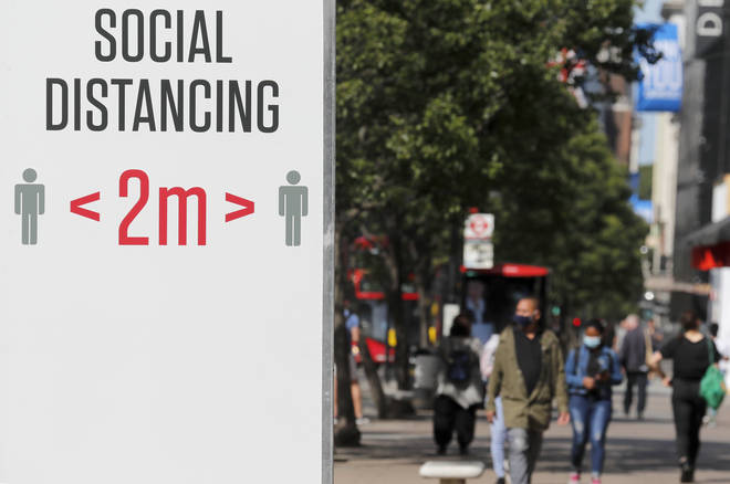 Social distancing rules are expected to be relaxed