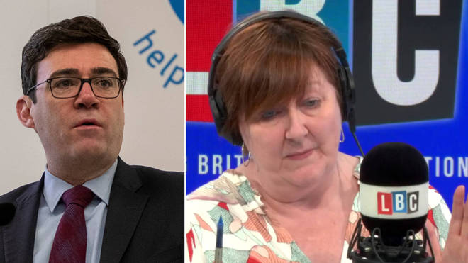 Andy Burnham told Shelagh Fogarty that it's too soon to relax the measures